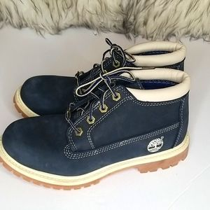 TIMBERLAND ANTI-FATIGUE NAVY BOOTS SIZE 6.5
